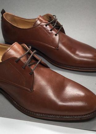 Чоловічі туфлі з натуральної шкіри від minelli🇮🇹