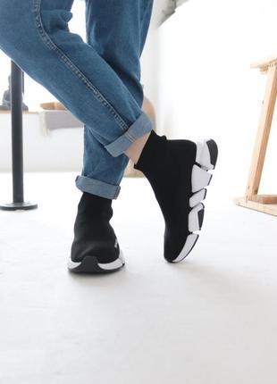 Кроссовки женские черные