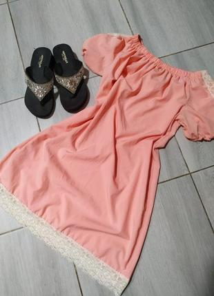 Платье с открытыми плечами, сарафан, платье летнее, тренд 2021