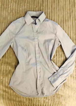 Рубашка блуза классическая zara