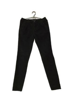 Срочно черные демисезонные зауженные брюки zara!