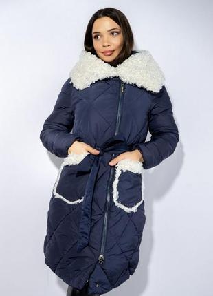 Зимнее пальто (куртка) с меховыми вставками, xs-s, s-m, m-l2 фото