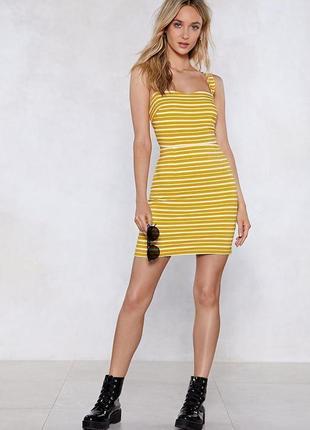 Яркое летнее платье, сарафан nasty gal