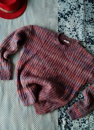 Sale вязаная кофта свитер из акрила с воротом tu світер