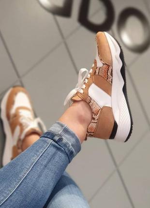 Gabor - шикарные кожаные кроссовки - 38,5, 39, 40, 41