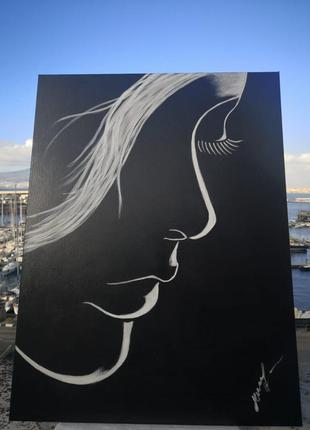 Картини інтерєрні в стилі мінімалізм, минимал-арт 80*60см від alesia misura