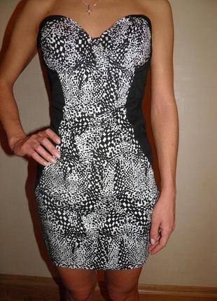 Новое платье бюстье asos  бюстье