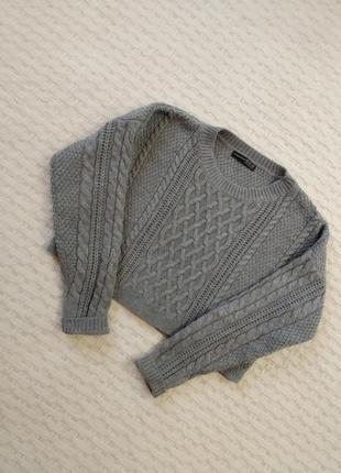 Укороченный свитер atmosphere.