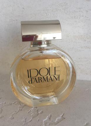 Парфюмированная вода idole d'armani