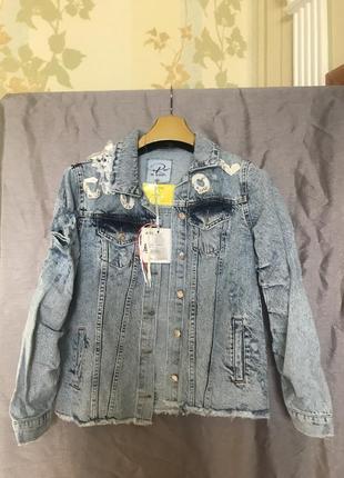 Коллекция 🔥весна-лето 2021 джинсовый пиджак raw🇹🇷🔥🔥🔥2 фото