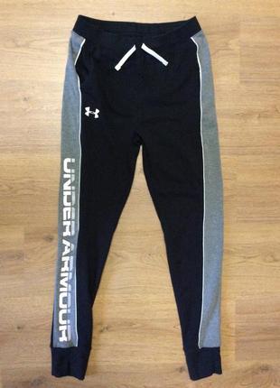 Спортивные штаны under armour оригинал р xs-s (бирка yxl) на рост 158-166