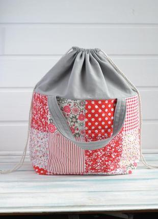 Проектная сумка для вязания.