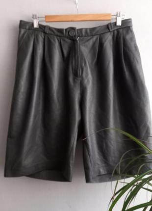 ⚪шикарные кожаные шорты cos высококачественная , мягенькая кожа