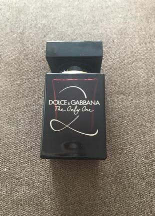 Духи dolce gabana the only one