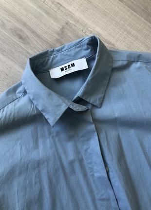 Платье - рубашка msgm