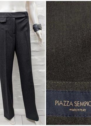 Piazza sempione italy элегантные итальянские шерстяные брюки