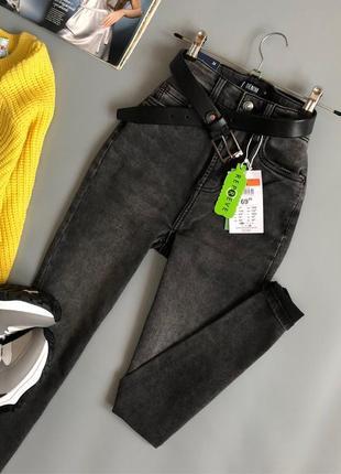 Новые обалденные узкие джинсы с высокой посадкой sinsay2 фото