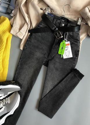 Новые обалденные узкие джинсы с высокой посадкой sinsay4 фото