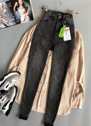 Новые обалденные узкие джинсы с высокой посадкой sinsay3 фото