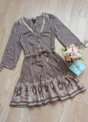 Летнее платье с воланом, идеально для пляжа
