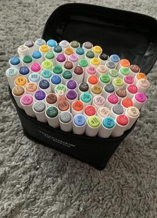 Набор маркеров touchnew 80 шт + подарки