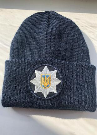 Форменная шапка полиции 👮🏻