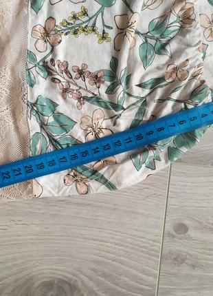 Персиковые пижамные шортики шорты пижама с кружевом2 фото