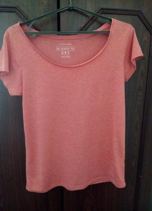 Базовая розовая футболка atmosphere