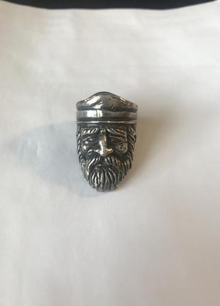 Серебряное кольцо боцман 925
