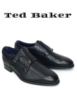 Кожаные мужские туфли монки ted baker london