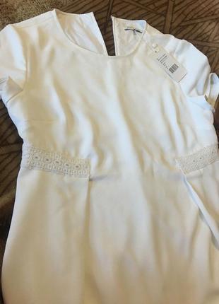 Белоснежное платье mint and berry