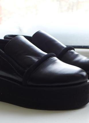 Обувь bevza на платформе