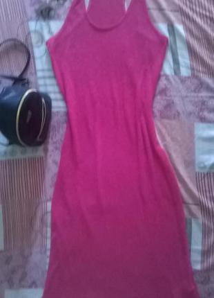 Пляжное платье сетка miss fiori
