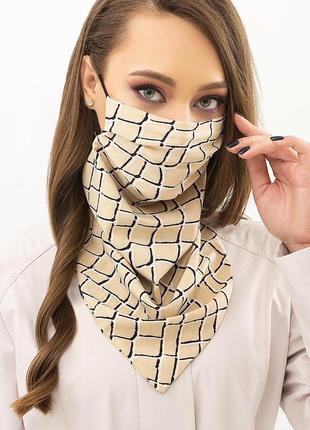 Стильная маска платок