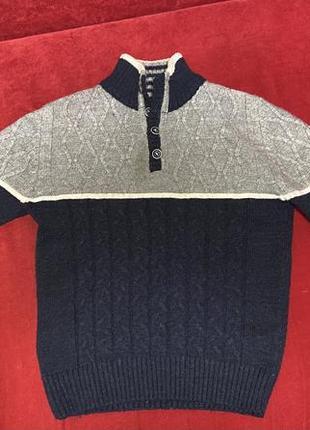 Теплий дитячий светр на хлопчика 10-12 років