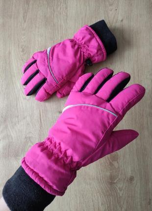 Подростковые спортивные лыжные термо перчатки, германия ,р.6