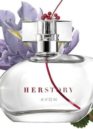 Женская парфюмерная вода avon herstory 50 мл хирстори её история духи эйвон
