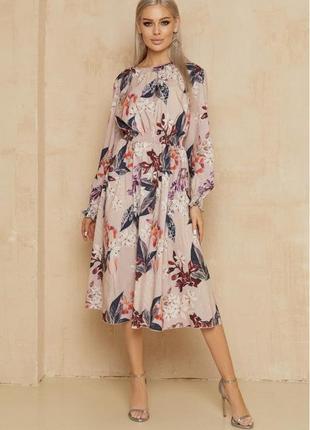 Очень красивое платье в принт