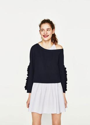 Платье + кофта , zara, l