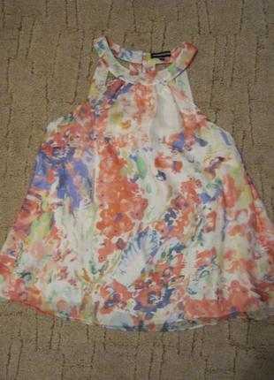 Блуза warehouse, 100% натуральный шелк, размер 10/38