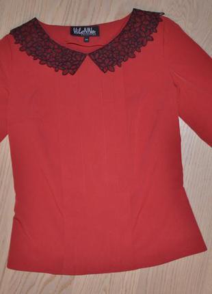 Красивая новая блуза vilonna collection xs