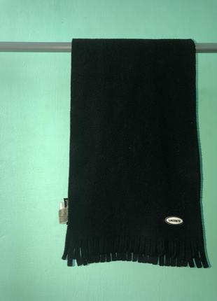Флісовий шарф lacoste