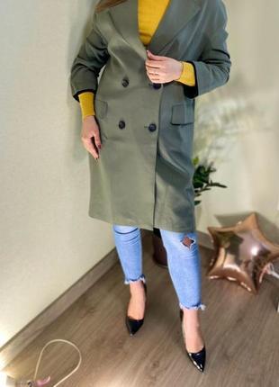 Only удлинённый пиджак -тренч с бирками