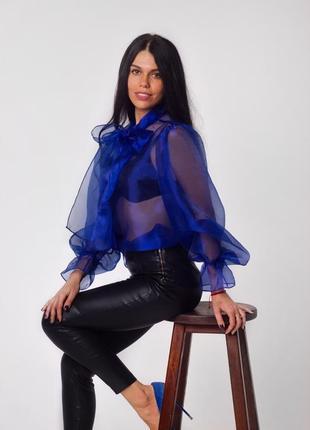 Блузка, рубашка с органзы