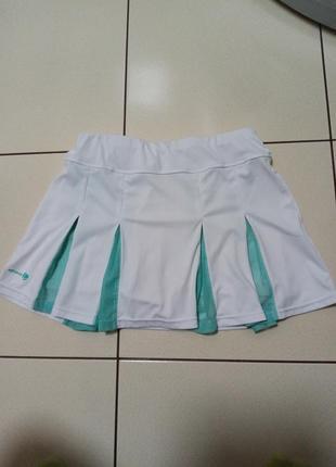 Юбка- шорты для спорта, легкой атлетики decathlon 152-160 р.