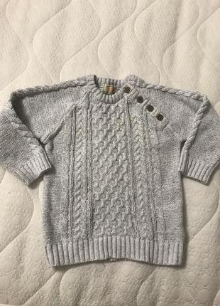 Котоновый свитерок. идеально 🤩 на весну. в идеале.размер 2-3 года