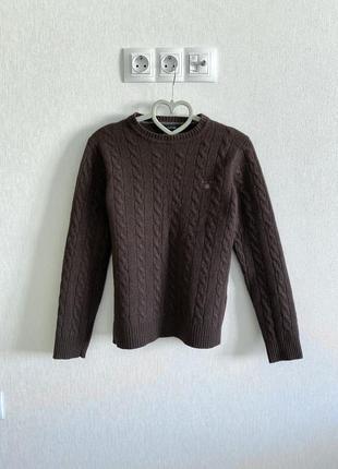 Шерстяной свитер gant женский