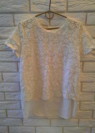 Нежное блуза.promod фирма.