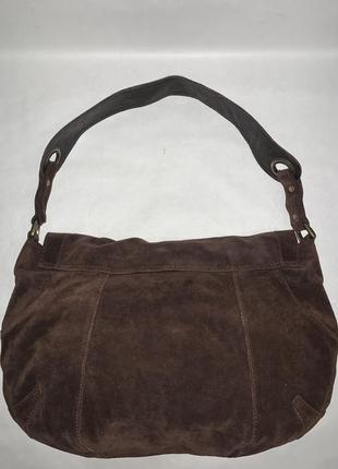 Кожаная фирменная сумочка на плечо kew.2 фото