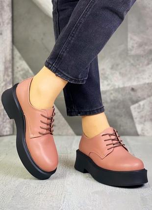 Крутые туфли кожа4 фото